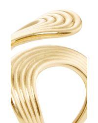 Fernando Jorge - Metallic Gold Stream Lines Open Ring - Lyst