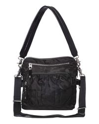 MZ Wallace | Black 'lizzy' Bedford Nylon Crossbody | Lyst