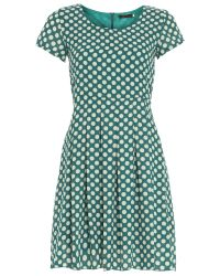 Tenki | Green Polka Dot Dress | Lyst