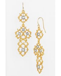 Alexis Bittar | Metallic 'elements - Muse D'or' Drop Earrings | Lyst