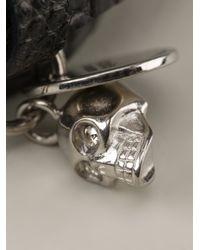 Alexander McQueen - Black Double Wrap Bracelet for Men - Lyst
