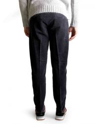 AMI | Blue Trousers for Men | Lyst