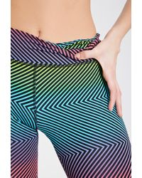 Forever 21 - Multicolor Active Rainbow Print Workout Leggings You've Been Added To The Waitlist - Lyst