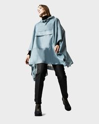 HUNTER | Blue Original Clear Poncho for Men | Lyst