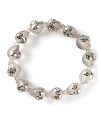 Shebee | Gray 'Greta' Bracelet | Lyst