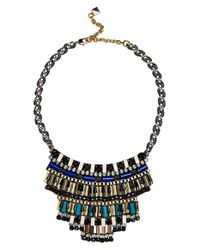 Nocturne | Blue 'jez' Frontal Necklace | Lyst