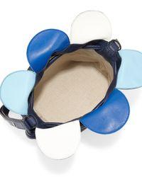 Loewe | Blue Flamenco Small Petal Bag | Lyst