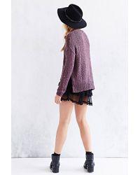 Kimchi Blue - Purple Favorite Boucle Sweater - Lyst