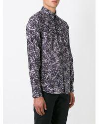 Paul Smith - Purple Floral Print Shirt for Men - Lyst