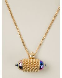 Bex Rox - Metallic 'Jungle Julia' Necklace - Lyst