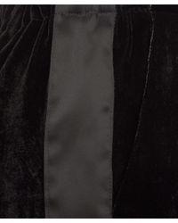 CLU - Black Velvet Tuxedo Trousers - Lyst