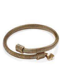 ALEX AND ANI | Gold Vintage 66 Drift Wrap Bracelet | Lyst