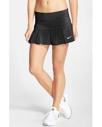 Nike Black 'victory - Breathe' Dri-fit Tennis Skirt