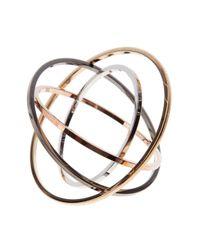 Delfina Delettrez - Metallic Tourbillon Bracelet - Lyst