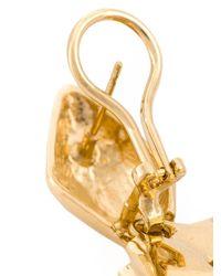 Aurelie Bidermann   Metallic 'marella' Earrings   Lyst