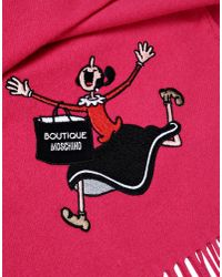Boutique Moschino | Purple Scarf | Lyst