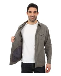 Woolrich - Gray Tiadaghton Solid Shirt Jacket for Men - Lyst