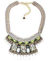 Nocturne | Metallic Fay White Necklace | Lyst