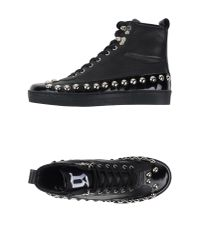 John Galliano - Black High-tops & Trainers for Men - Lyst