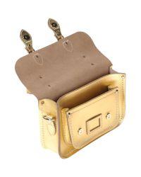 Cambridge Satchel Company - Metallic Handbag - Lyst