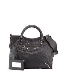 Balenciaga - Gray Giant 12 Nickel City Velo Bag - Lyst