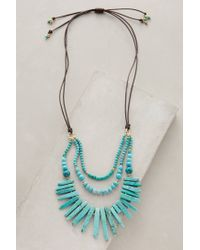 Anthropologie | Blue Lucero Necklace | Lyst