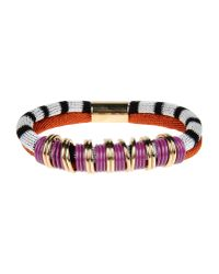 Missoni | White Roped Stripped Bangle | Lyst