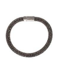 Carolina Bucci - Black Twister Bracelet - Lyst