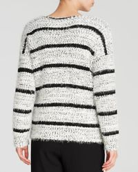 Calvin Klein | Black Plus Eyelash Knit Sweater | Lyst