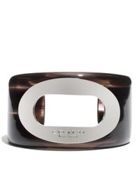 COACH - Multicolor Oval Resin Cuff - Lyst