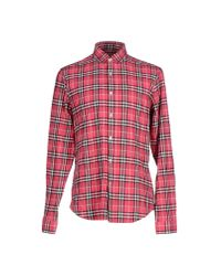 Burberry Brit | Pink Shirt for Men | Lyst