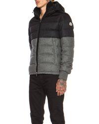 Moncler - Gray Harvey Wool Jacket - Lyst