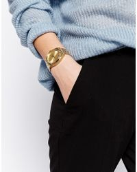 Nixon | Metallic Time Teller Gold Watch | Lyst