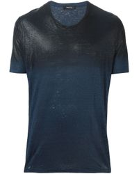 Avant Toi - Blue Degradé T-shirt for Men - Lyst
