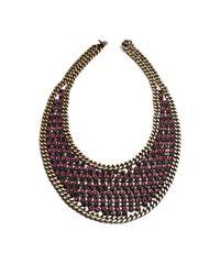 DANNIJO | Pink Bentley Necklace | Lyst