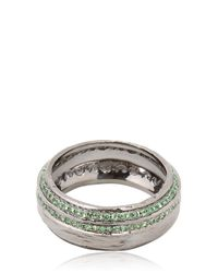 Marco Ta Moko | Green The Other Half Ring | Lyst