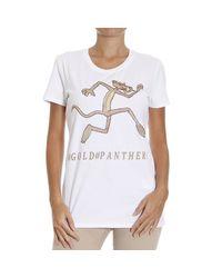 Iceberg - White T-shirt - Lyst