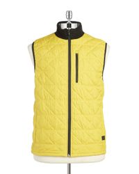 Victorinox | Metallic Quilted Vest for Men | Lyst
