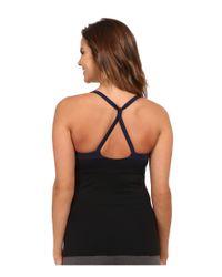 Alo Yoga | Black Blossom Long Bra | Lyst