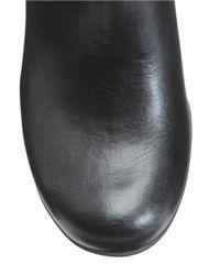 Aerosoles | Black Ornament Faux Leather Boots | Lyst