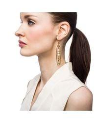 Lulu Frost | Metallic Kinship Pearl Earring | Lyst