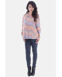 Everly Grey | Multicolor 'florence' Maternity Tunic | Lyst