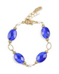Dabby Reid | Blue 'ronnie Mae' Bracelet - Navy/ White | Lyst