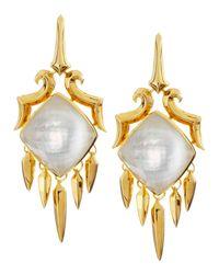 Stephen Webster - Yellow Large Drop Crystal Haze Earrings - Lyst
