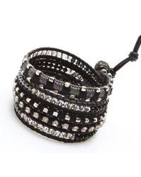 Nakamol - Multicolor Cassidy Wrap Bracelet-black - Lyst