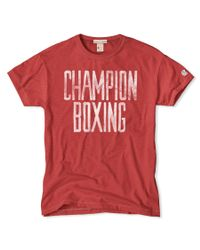 Todd Snyder | Red Champion Boxing T-shirt for Men | Lyst