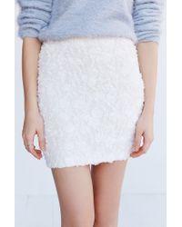 Kimchi Blue | White Rosalie Mini Skirt | Lyst