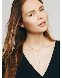 Free People | Metallic Necklace Bottle | Lyst