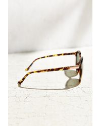 Urban Outfitters | Brown Camille Round Sunglasses | Lyst