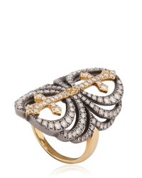 Elise Dray - Metallic Chevalresque Ring - Lyst